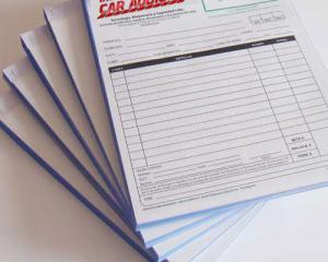 Diseño e impresión de facturas, recibos en papel químico