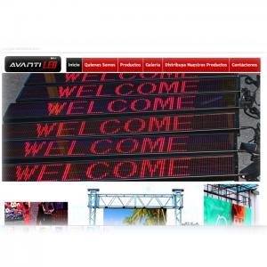 Venta alquiler importación distribución informadores pantallas tecnologia