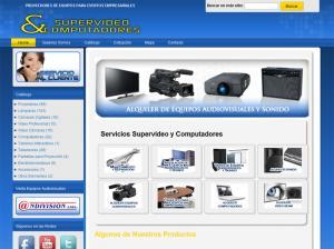 Supervideo y Computadores Venta Alquiler Video Beam computadores sonido