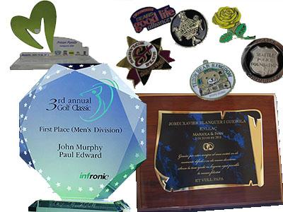 trofeos menciones placas conmemorativas acrílico vidrio bogota corporativos